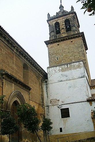 Santa Marina (Córdoba) - Image: Cordoba Iglesia de Santa Marina de Aguas Santas 08