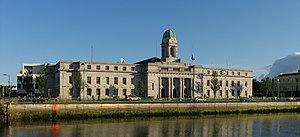 Cork City Hall - Cork City Hall, as viewed from Lapp's Quay