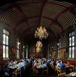 Dining hall panorama