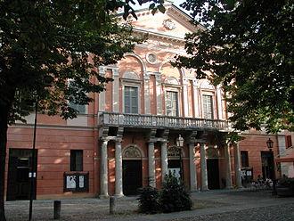 Correggio, Emilia-Romagna - Image: Correggio teatro Asioli