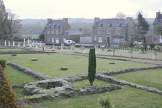 Corseul - Roman ruins