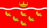 The flag of East Sussex