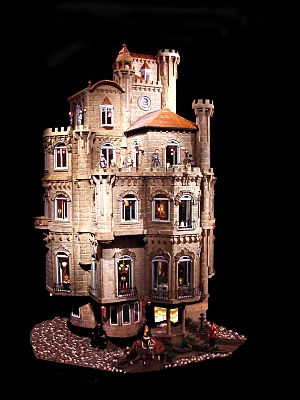 Astolat Dollhouse Castle - Exterior of the Astolat Dollhouse Castle
