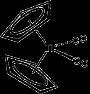 Titanocene dicarbonyl chemical compound