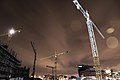 Cranes at night (26177905869).jpg