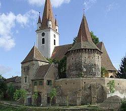 Cristian village, Sibiu County - the citadel church2.JPG