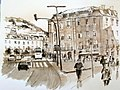 Croquis- Lisbonne - Rossio - Portugal (7961947276).jpg