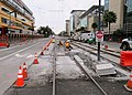 Crossover construction south of 16th Street, February 2019.JPG