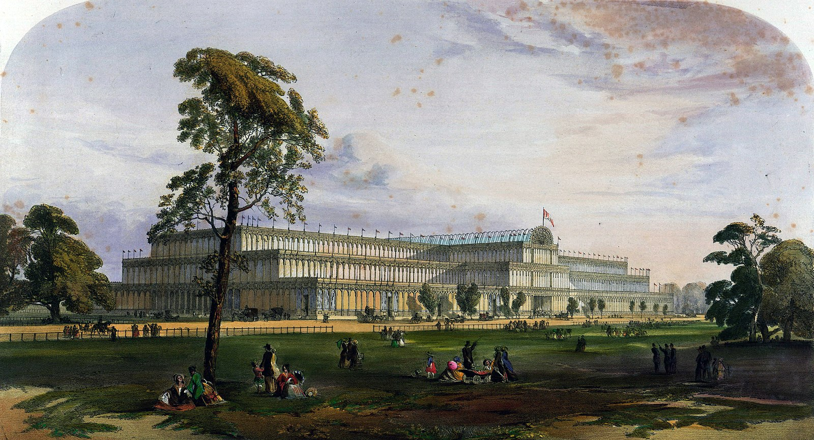 the importance of the great exhibition of 1851 The crystal palace was built in hyde park for the great exhibition of 1851, which was a huge event it was an exhibition of technology from the industrial revolution which attracted around 14,000 inventors from around the world.