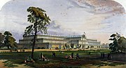 The Great Exhibition in Hyde Park 1851.