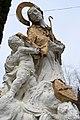 Csákánydoroszló, Nepomuki Szent János-szobor 2021 08.jpg