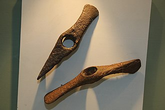 Economy of the Cucuteni–Trypillia culture - Image: Cucuteni Battle Axes