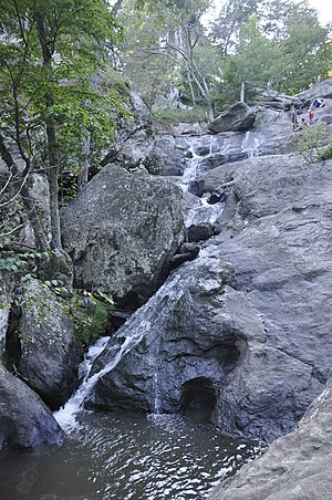Cunningham Falls State Park - The longest cascading waterfall in Maryland