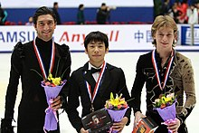 Cup of China 2009 Men's Podium.jpg