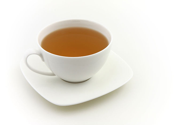 File:Cup of tea isolated on white background - Petr Kratochvil.jpg