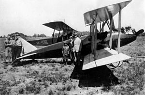Curtiss Oriole - Curtiss Oriole at Houston, 1919