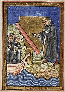 Cuthbert 7th-century Bishop of Lindisfarne, Bishop of Hexham, and saint