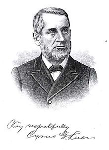 1824: Cyrus Luce Born, Future Governor of Michigan
