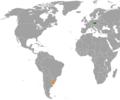 Czech Republic Uruguay Locator.png