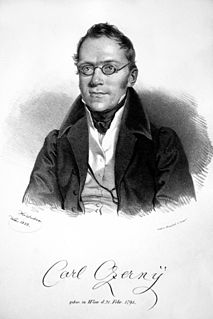 Carl Czerny Austrian composer, teacher. and pianist