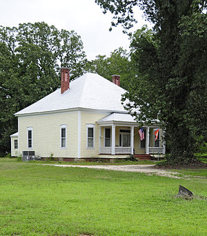 National Register of Historic Places listings in Lexington County, South Carolina - Image: DDD Barr House