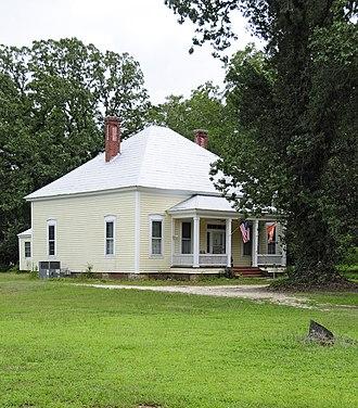 D. D. D. Barr House - D. D. D. Barr House, August 2012