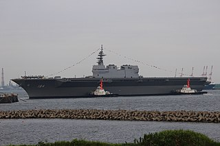 Second helicopter destroyer within the Izumo-class of the Japan Maritime Self-Defense Force