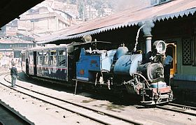 Le 'Toy Train' en gare de Kurseong