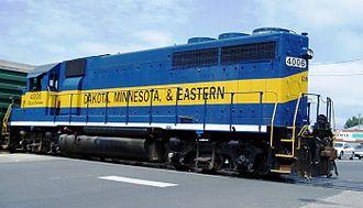 Dakota, Minnesota and Eastern Railroad - DME 4006, City of Balaton, an EMD GP40.