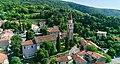 """DOLINA-VEDUTA SULLA PIEVE DI SANT'ULDERCIO , COPYRIGHT 2020, Central European Institute """"J.Pangerc"""".jpg"""