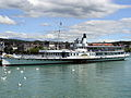 Dampfschiff Stadt Zürich - Bürkliplatz - General-Guisan-Quai 2012-07-14 14-44-35 (P7000).JPG