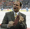 Dan potash with Knitting Lady's sock.JPG