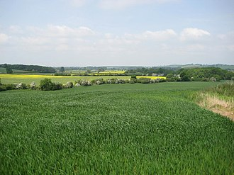 Battle of Edgecote Moor - Danesmoor, the site of the Battle of Edgecote