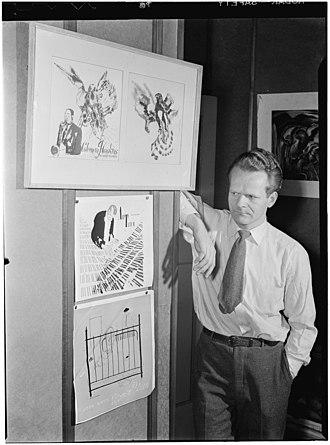 David Stone Martin - David Stone Martin, ca. April 1947, photo by William P. Gottlieb.