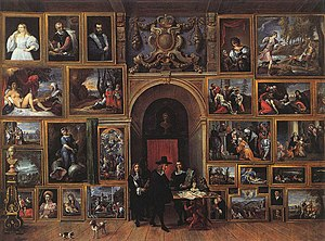 Portrait of Jacopo Strada - Image: David Teniers (II) Archduke Leopold Wilhelm of Austria in his Gallery WGA22064