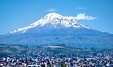 Photo du volcan Chimborazo