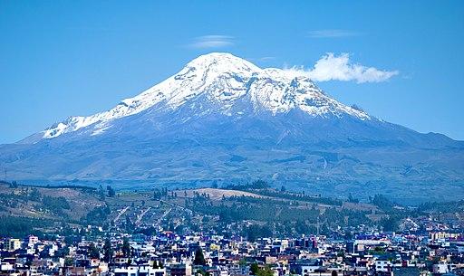 David Torres Costales Chimborazo Riobamba Ecuador Montaña Mas Alta del Mundo