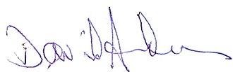 David Anderson (British Columbia politician) - Image: David anderson signature