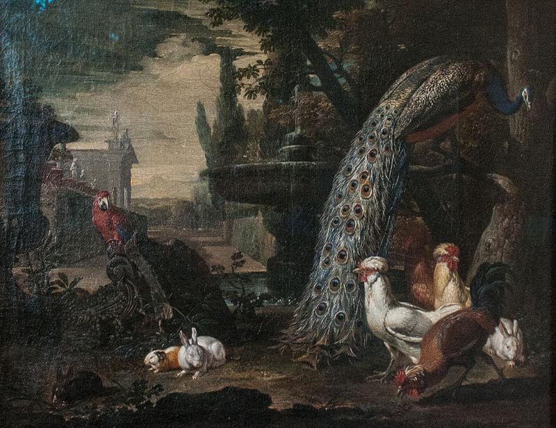 David de Coninck - Animals in a Garden.jpg