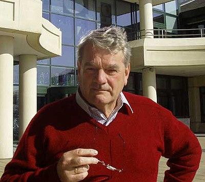 David Irving, känd engelsk förnekare av Förintelsen