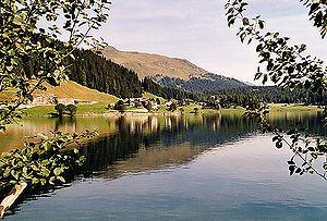 Lake Davos - Image: Davos lake