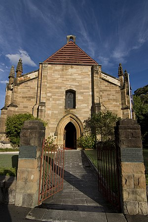 Garrison Church (Sydney) - The Garrison Church exterior