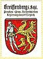 Dawny herb Gryfowa Śląskiego na przedwojennym znaczku pocztowym.jpg