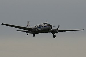 De Havilland Australia DHA-3 Drover in flight.jpg