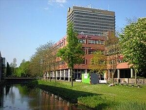 Utrecht University - Image: De Uithof (nouveau campus de l'Université d'Utrecht)