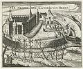 De inname van het kasteel van Breda met het turfschip in 1590 - The capture of Breda castle in 1590 (Bartholomeus Willemsz. Dolendo).jpg