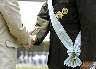 Colombian military decorations - Sash of the Order
