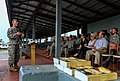 Delaware senator visits JFC-UA service members in Liberia 141221-A-YF937-023.jpg