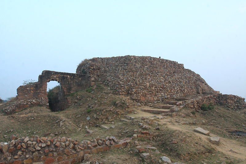 File:Delhi- city of joy- Tughlaq quila New Delhi.JPG