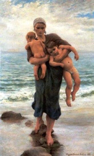 Virginie Demont-Breton - Image: Demont Breton femme de pêcheur